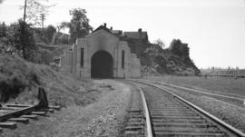 C.P.R. Tunnel North Portal [at Thurlow St.]