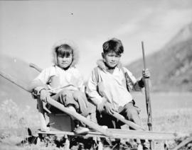 Indian children at Carcross, Y.T.