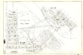 [Sheet 22 : Maple Street to Drake Street and Fourth Avenue to Thurlow Street]