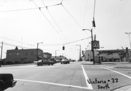 Victoria Drive and 33rd [Avenue looking] south
