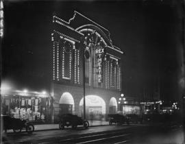 Rex Theatre by night