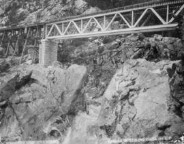 Bridge near North Bend, C.P.R.