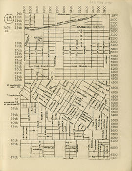 Sectional map and street directory of Vancouver, British Columbia : [Boundary Road to Broadway to...