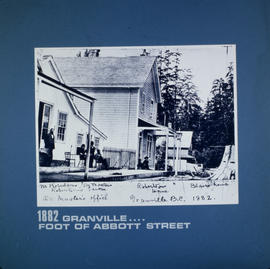 Granville [Street at the] foot of Abbott Street