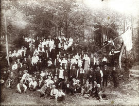 French-Canadian picnic, c. 1900, Vancouver area