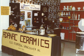 Adanac Ceramics display booth