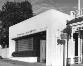 [Job no. 684] : Office of Townley & Matheson, Architects, Vancouver B.C.