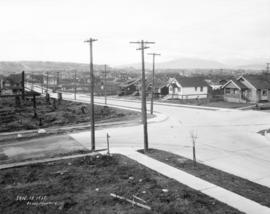 [View of Vancouver looking northwest from 12th Avenue and Trafalgar Street]