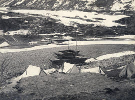 Placer mining during the Klondike Gold Rush