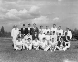 North Vancouver Cricket Week [players - group photograph]