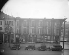 [Photograph of 300 block, Water St., Vancouver B.C.]