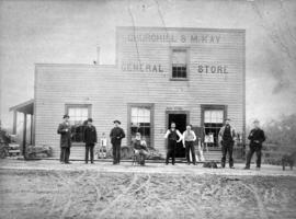 Churchill and McKay's General Store and Post Office at Ebume
