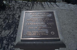 Lost Lagoon plaque