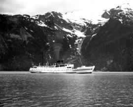 "[S.S. ""Chilcotin"" on summer cruise service to north coast of B.C. and Alaska]"