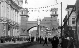 Arch on Granville Street at Hastings, for the Duke of Connaught's visit