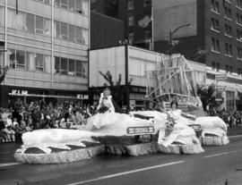 City of Victoria float in 1962 P.N.E. Opening Day Parade