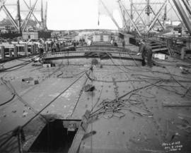 Hull No. 103 [under construction at West Coast Shipbuilders Limited]