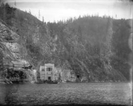 [View of Buntzen Lake Power Plant number two from Indian Arm]