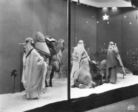 [Spencer's Department Store] 3 wise men Christmas [window]