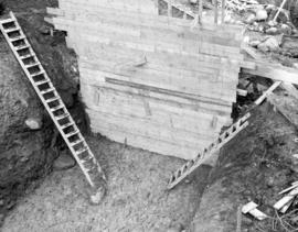 South Shore.  Near the floor shown, tons of earth engulfed and and crushed a worker - the only fa...