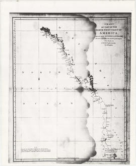 Chart of part of the northwest coast of America explored by the Boussole & Astrolabe
