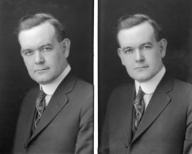 [Two portraits of A.L. McLennan]