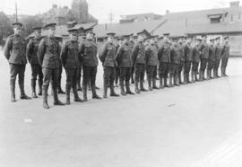 [158th Overseas Battalion at Cambie Street Grounds]