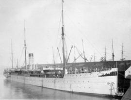"[The ship ""Tartar"" at dock]"