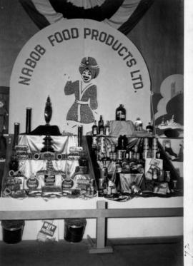 Nabob Food Products display