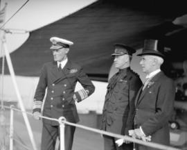 "Visit of H.M.S. ""Despatch"" and H.M.S. ""Dauntless"", Vice Admiral Vernon H.P. H..."