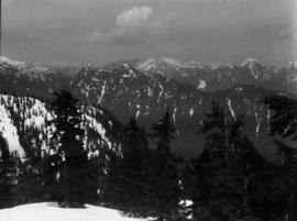 Panorama from Grouse [Mountain]