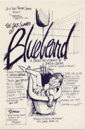 So-It Goes Theatre Company presents a Cabaret Theatre Production of The Sex Slaves of Bluebeard :...