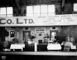 Kelly Douglas and Co. display of Nabob tea and coffee