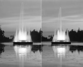 [Two views of] Lost Lagoon and the Fountain