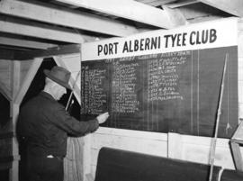 Port Alberni Tyee Club Fishing Derby [list of qualified fishermen]