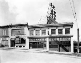 Granville Brothers [Cleaners and Dyers at 1835 Granville Street]