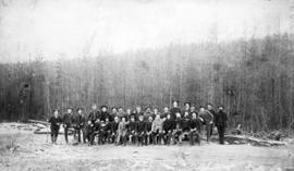 [Group portrait of C.P.R. Construction Crew]