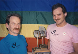 Jim Deva and Thom Harrison [with Castle Pub Award]