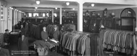 A busy day at Robinson's Clothes Shop Vancouver, B.C. March 1918