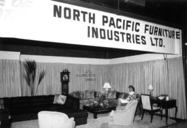 North Pacific Furniture Industries display of home furniture