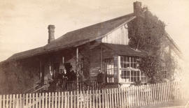 [Bachelor's residence on Dunlevy Avenue at Hastings Sawmill]