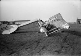 Hewitson's crash [at] Mohawk