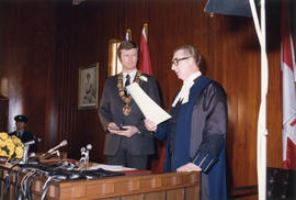 Mayor Arthur Phillips Oath of Office at City Hall Council Chambers