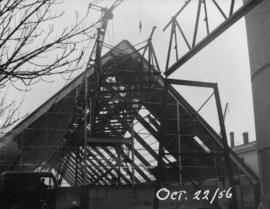 Raw sugar warehouse construction
