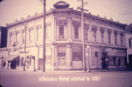 Alhambra Hotel started in 1887