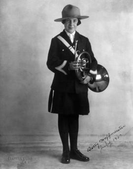 [Betty Hoffmeister, July 1927, [C.N.O.S.?] First National Band, Vancouver]
