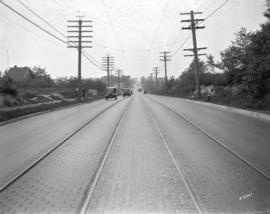 [View of Kingsway looking east from Slocan Street]