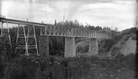 C.P.R. Bridge over Nipigon River, Lake Superior