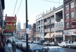 [View of the 100 block East Pender Street]