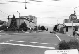 Balsam [Street] and 4th [Avenue looking] north